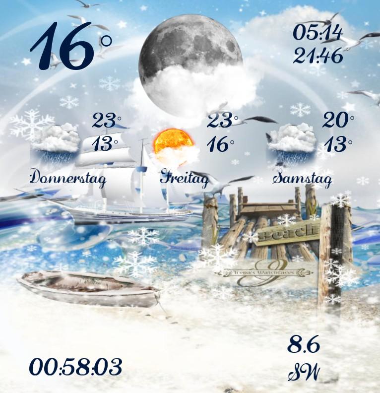 Widget Wetter Kuestenkind 20 Winter
