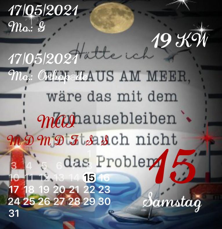 Kalender Kuestenkind 4 Nacht
