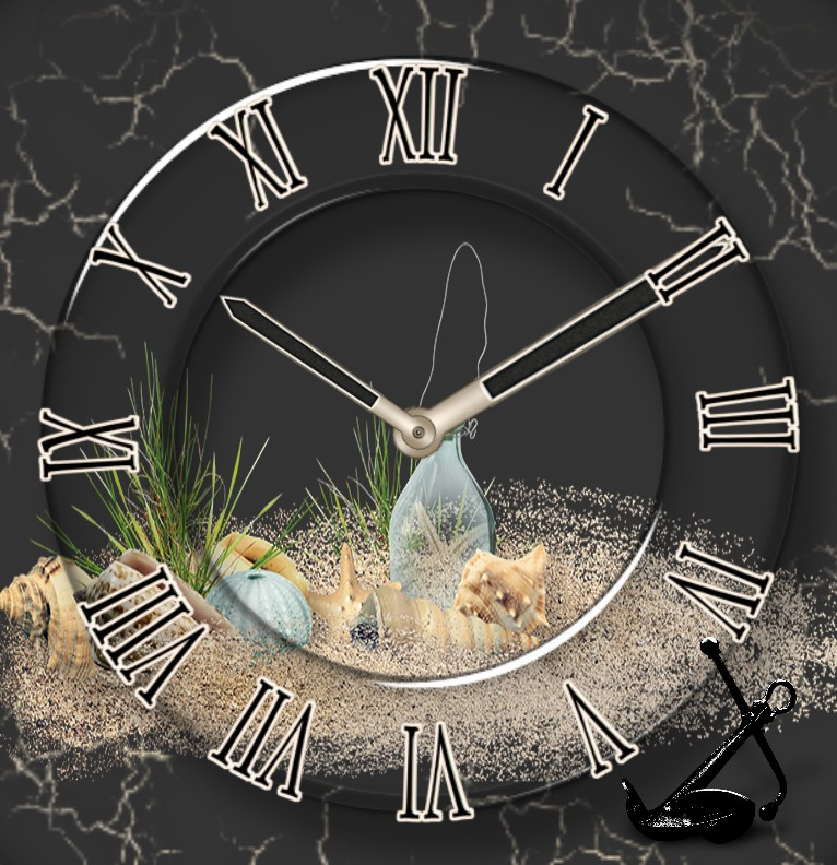 Clock Old Beach