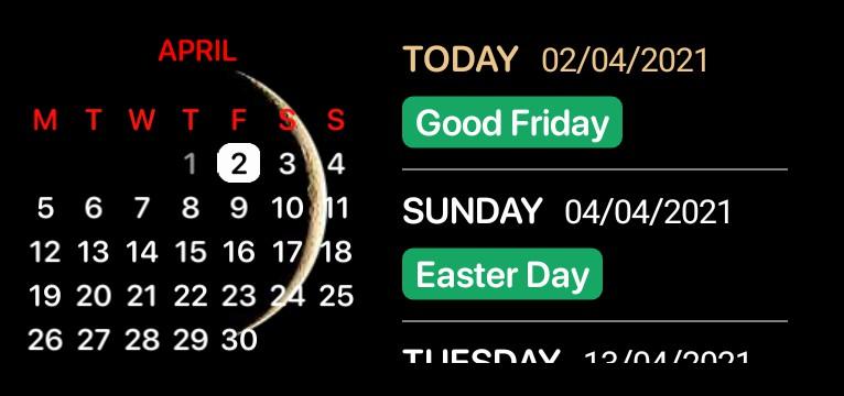 Sachins Calendar