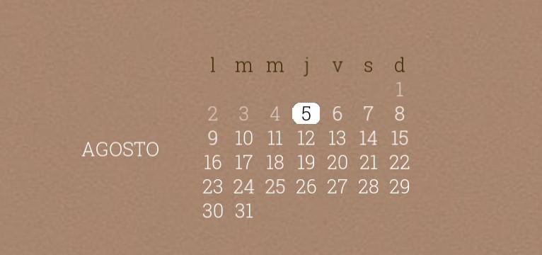 widget date