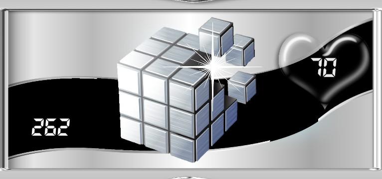 Herz Widget Cube