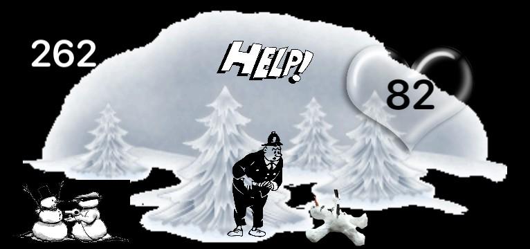 Herz Widget Snowman