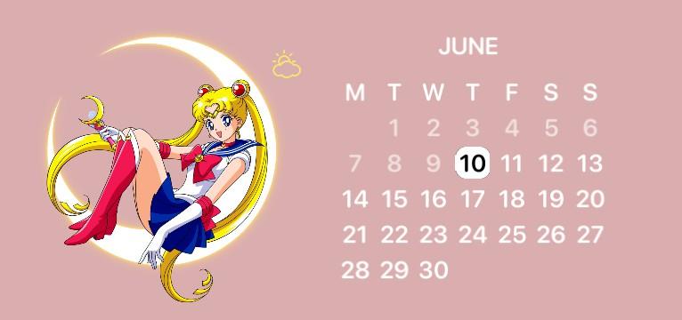 Sailor Moon Calendar