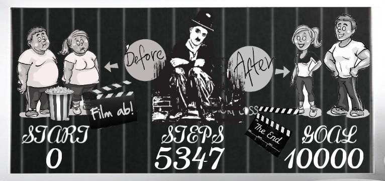 Step Charlie Chaplin 1