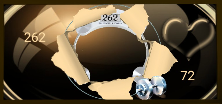 Herzschlag Schritte Design 1469