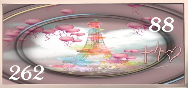 Herzschlag Kalorienverbrauch Love Paris