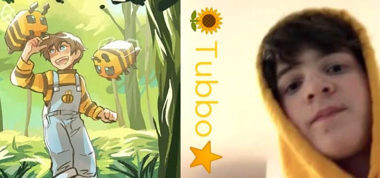 yellow tubbo widget