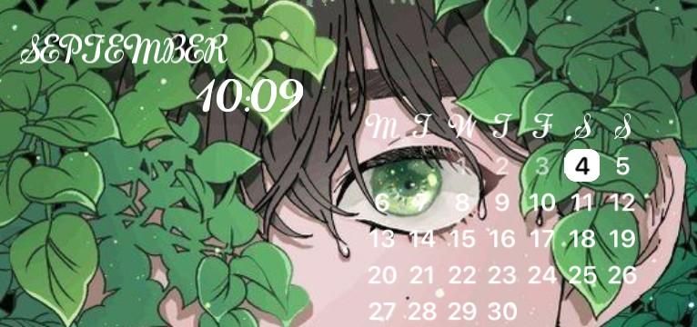 Green time widget
