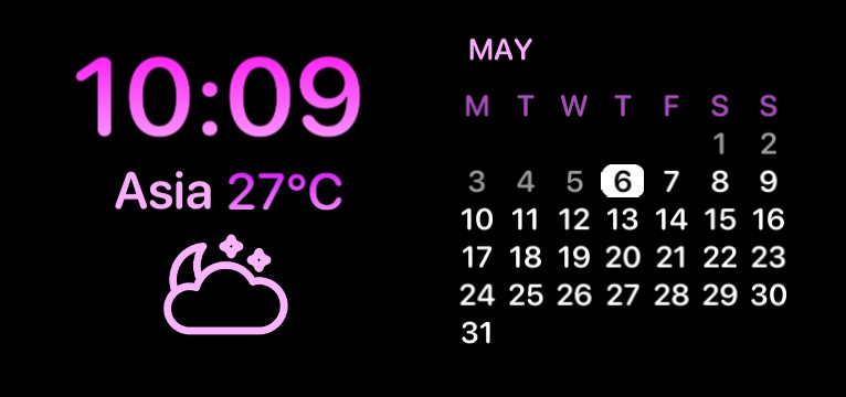 Time, Weather and Calendar
