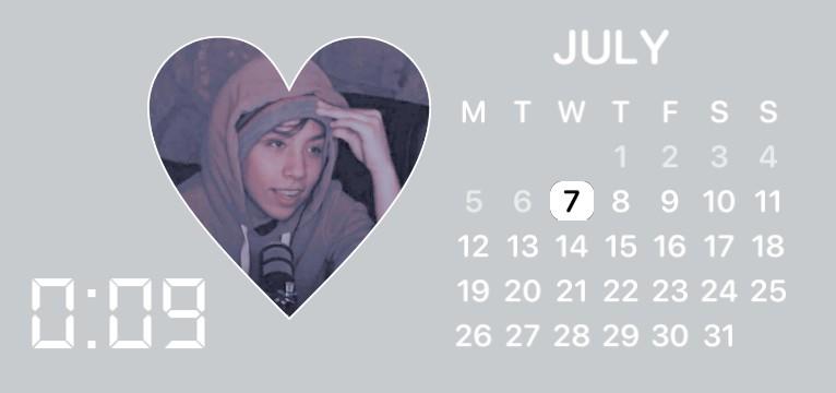 Quackity Calendar/Clock