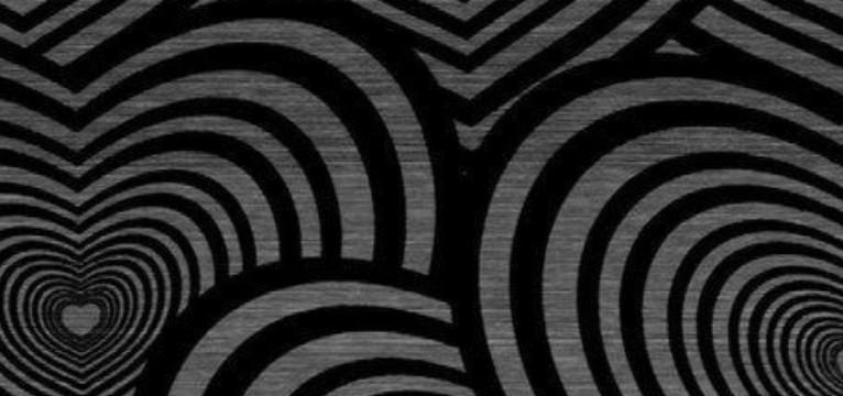 Black Spiral Hearts