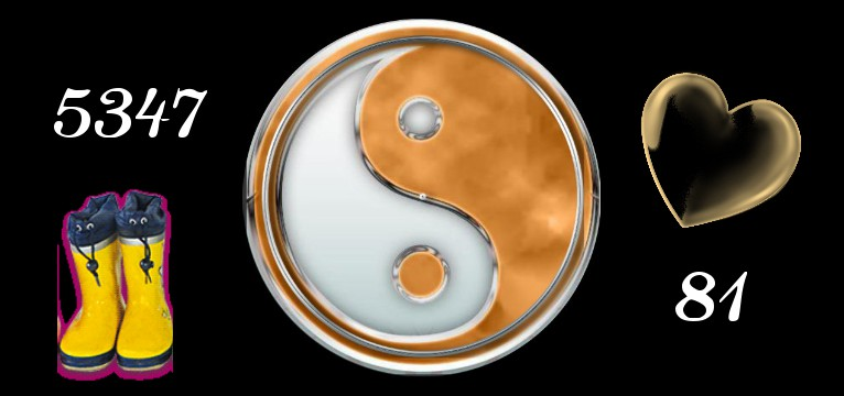 Herzschlag Schritte  Yin Yang