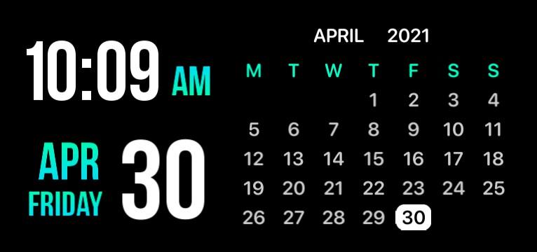 Clock and Calendar by ANR Tarak