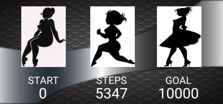 Step counter  Serie Elegant
