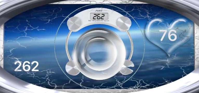 Herzschlag Kalorienverbrauch Design 1470
