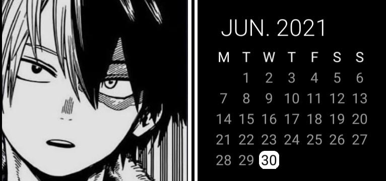 Todoroki Calendar