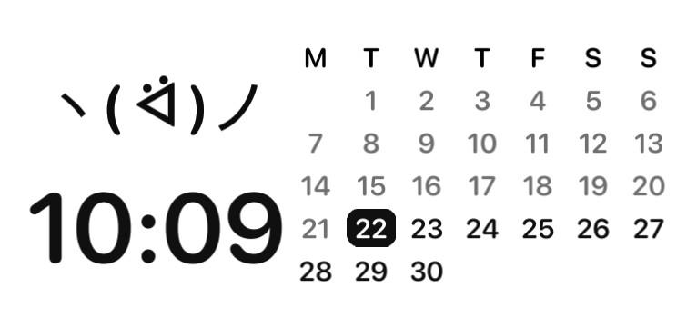 White Basic Calendar Copy