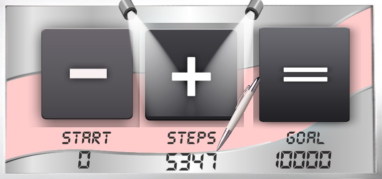 Step counter Serie Star Office