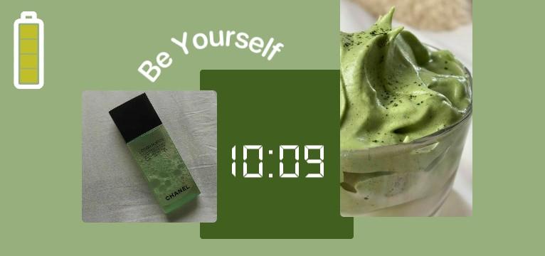 Green because yeah