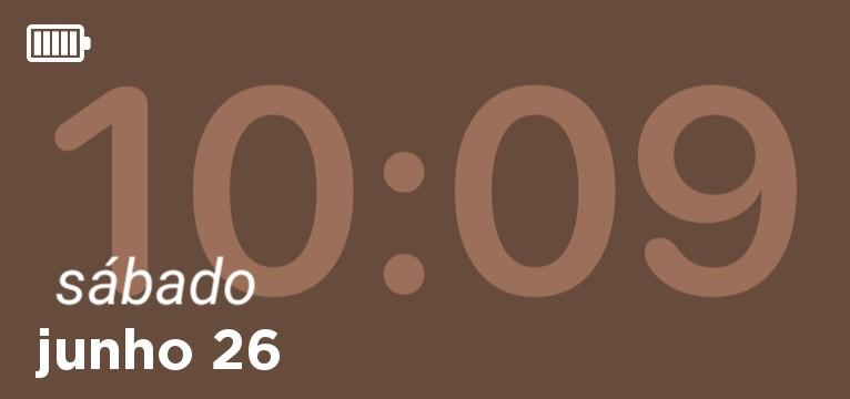 Horas com datas