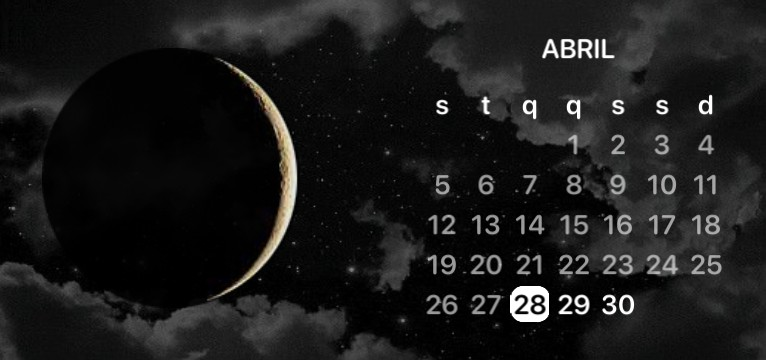 Calendar of the Moon