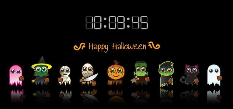 Halloween w/ time