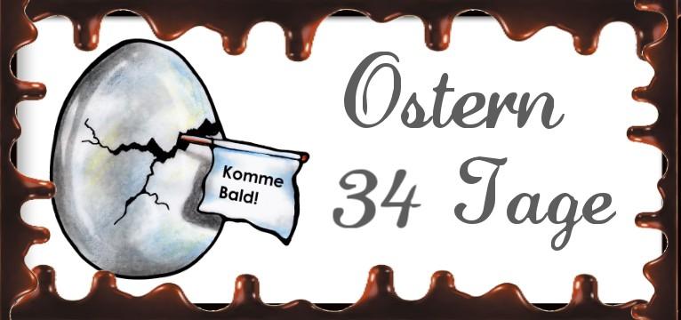 counter Ostern Schoki