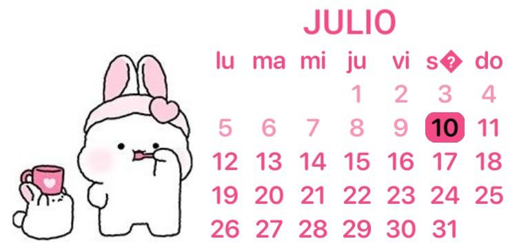 Calendar cute