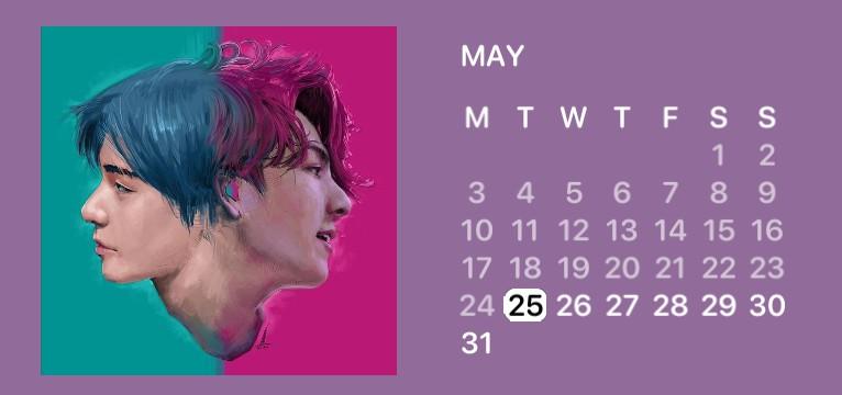 TaeKook Calendar