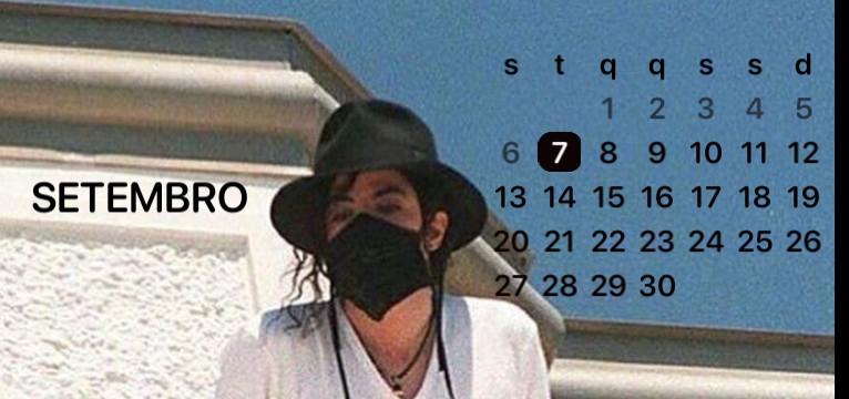 calendario Michael Jackson