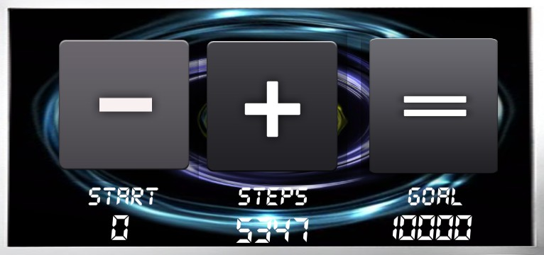 Step counter Serie 1462