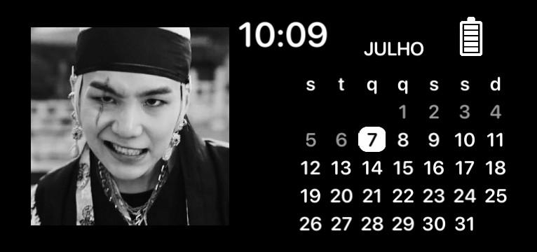 Yoongi Calendar