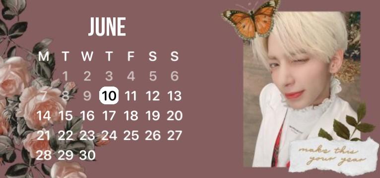 Taehyun TXT Calendar
