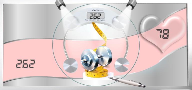 Herzschlag Kalorienverbrauch Design Star Office  Copy