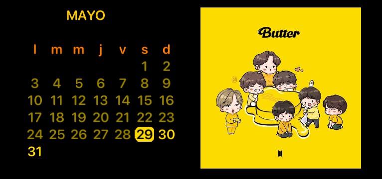 Butter Calendario