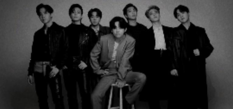 BTS Black Aesthetic Photo Widget