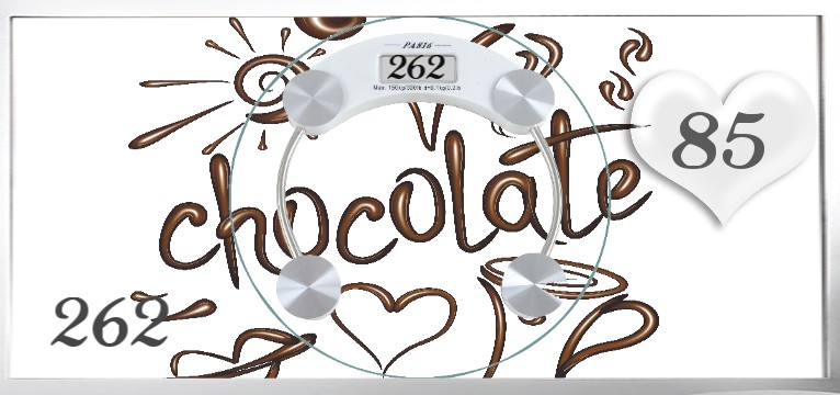 Herzschlag Kalorienverbrauch Chocolate