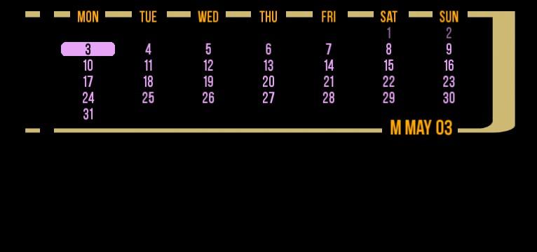 lcars calendar