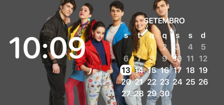club 57 clock and calendar