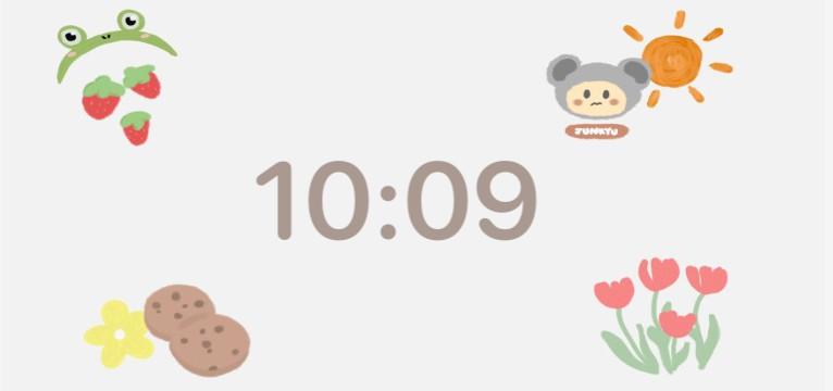 Peppy themed widget