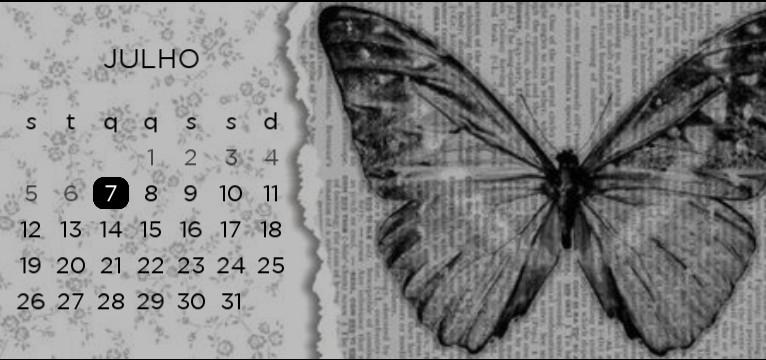calendar butterfly