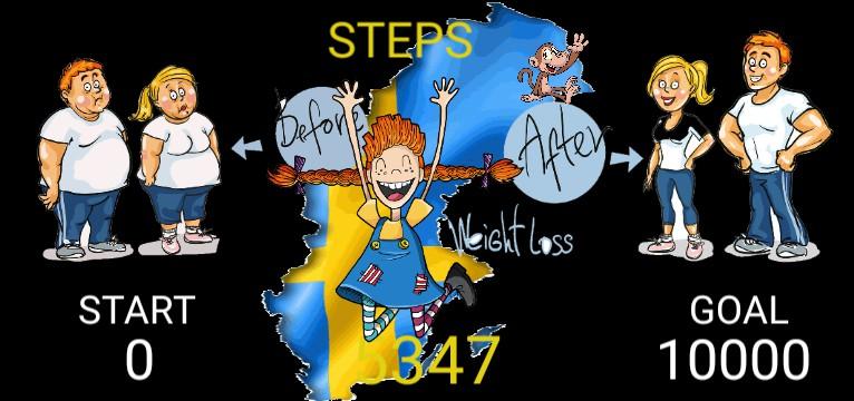 Steps Pippi Langstrumpf