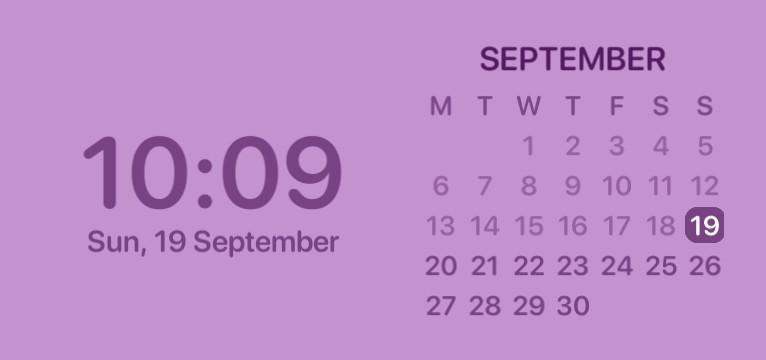 date widget