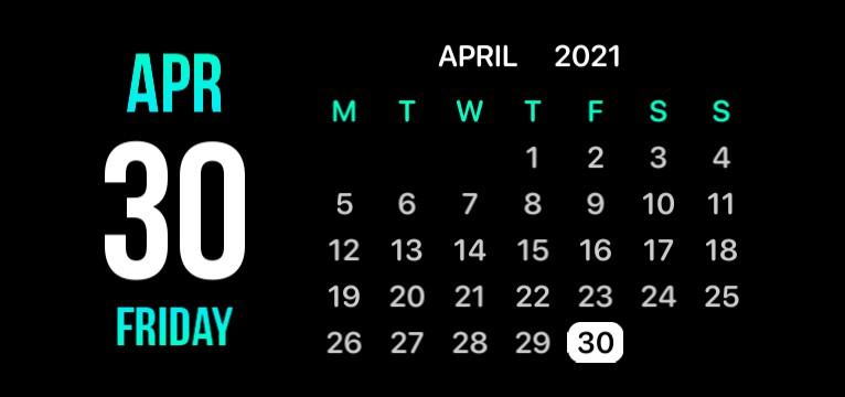 Calendar by ANR Tarak