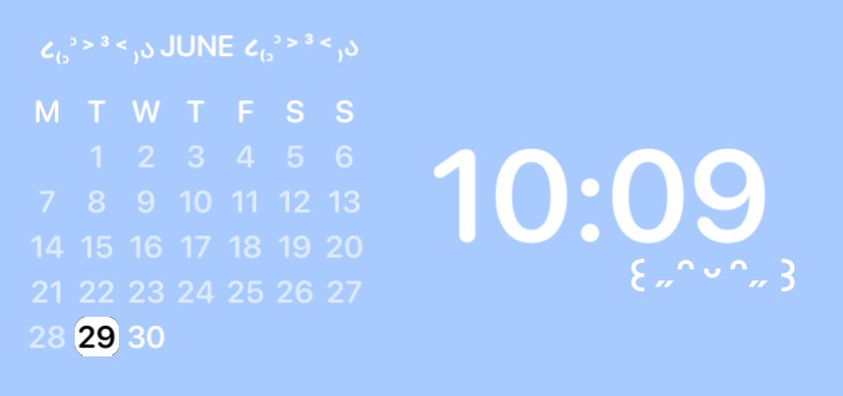 calendar with time