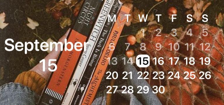 Calendar autumn
