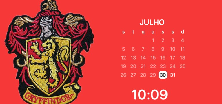 Griffindor calendar