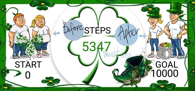 Step Saint Patricks Day