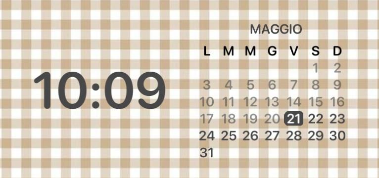 calendar aesthetic